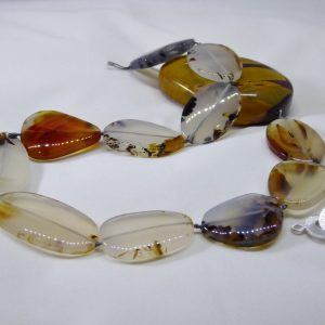 Montana agate necklace in waiting