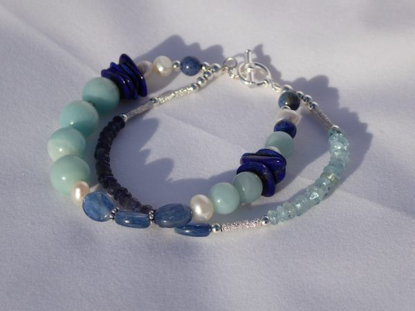 Handmade Gemstone Beaded Bracelet