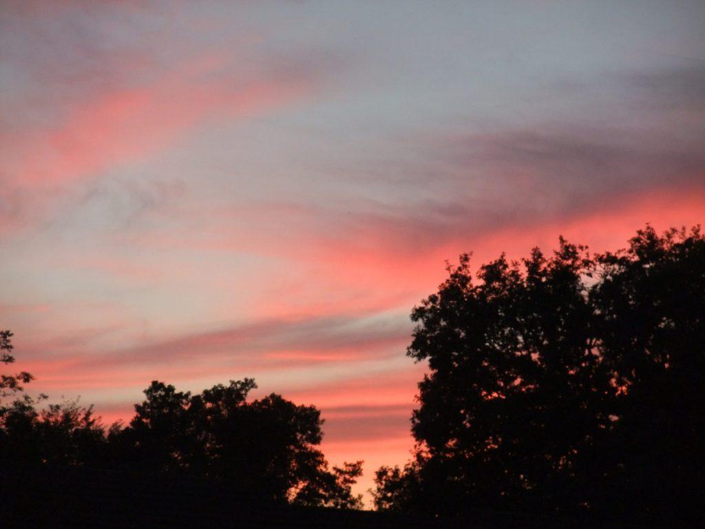 Sunset East Grinstead