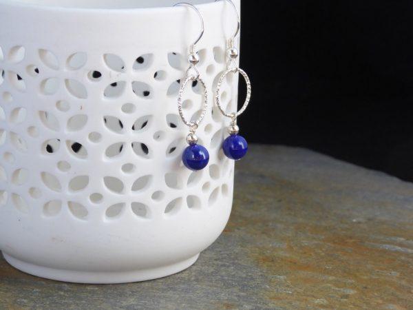 Lapis Lazuli dropper Earrings