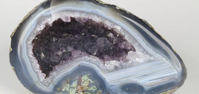 Agate Geode Amethyst Crystals